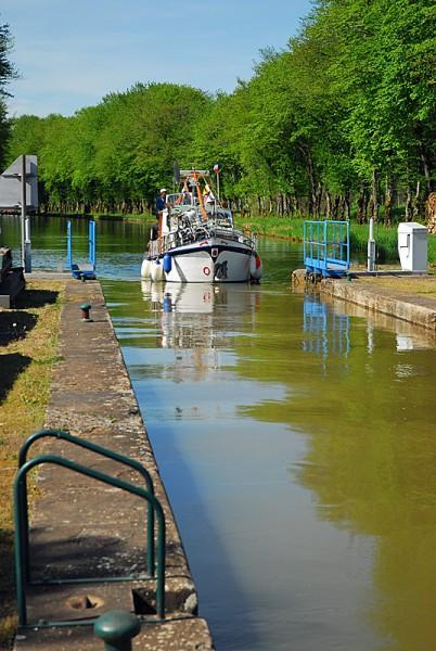 Canal de Cusey  © OTSI Pays de Langres : Jean-François Feutriez