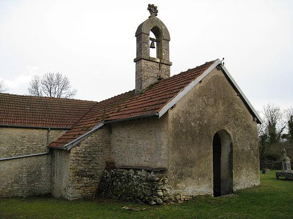Eglise du hameau de Montormentier